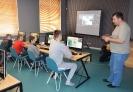 Warsztaty z robotyki w Gminnej Bibliotece Publicznej w Wyrykach